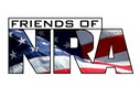 Friends of NRA NEW Logo American Flag