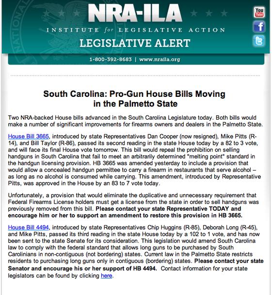 Pro-Gun House Bills Moving In Palmetto State 2